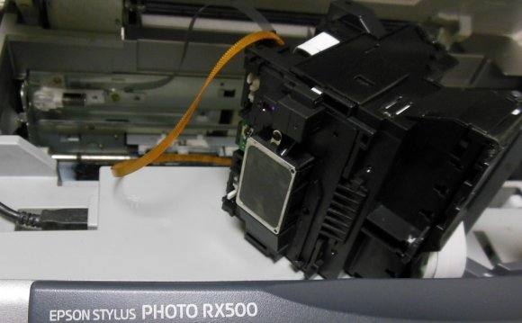 чистка головки Epson RX500