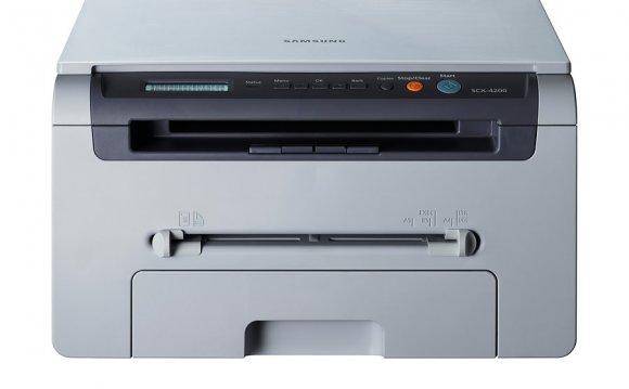 SCX-4200 Вид спереди
